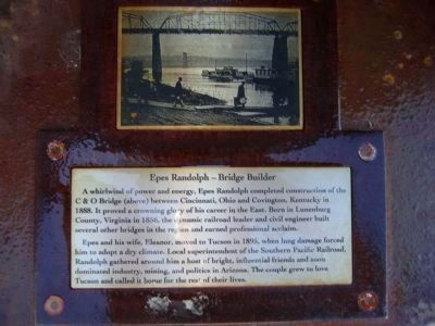 Epes Randolph – Bridge Builder - Side D Photo, Click for full size