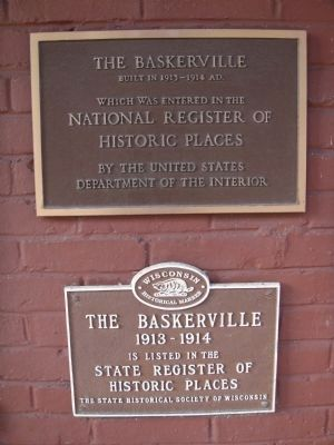 National and State Historic Places Markers image. Click for full size.