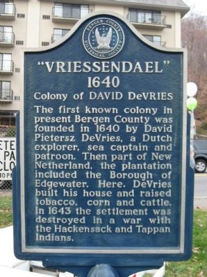 Vriessendael Marker Photo, Click for full size