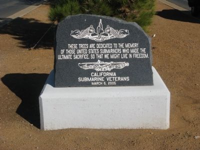 United States Submariners Memorial image. Click for full size.