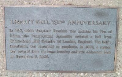 Liberty Bell Marker image. Click for full size.