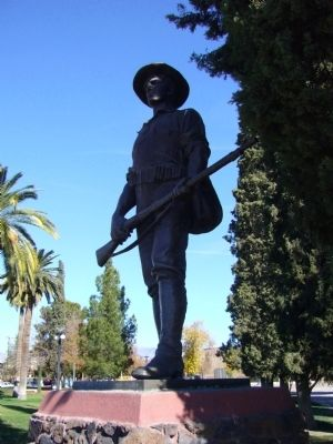 Spanish War Veterans Monument image. Click for full size.