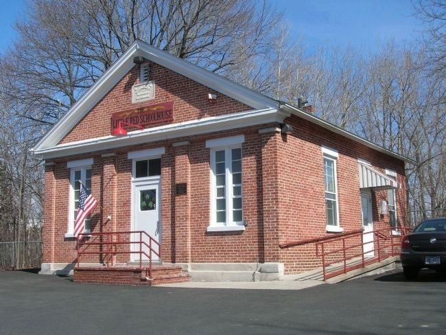 The Little Red Schoolhouse in North Greenbush image. Click for full size.