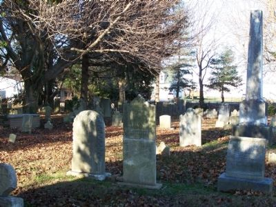Old Asbury Methodist Cemetery image. Click for full size.
