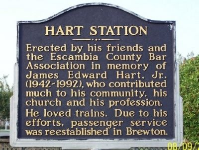 Hart Station Marker image. Click for full size.