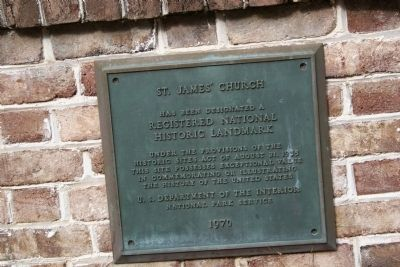 Registered National Historic Landmark Plaque - Photo, Click for full size