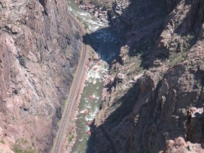 Royal Gorge Rafters image. Click for full size.