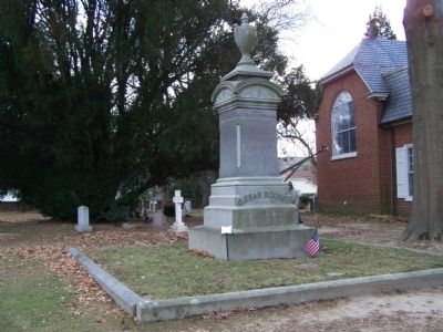 Caesar Rodney Gravesite Photo, Click for full size