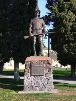 Spanish War Veterans Monument Marker image. Click for full size.