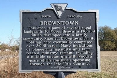 Browntown Marker image. Click for full size.