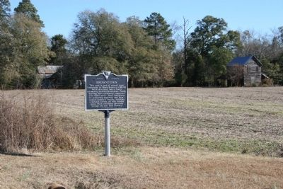 Browntown Marker and Surroundings image. Click for full size.