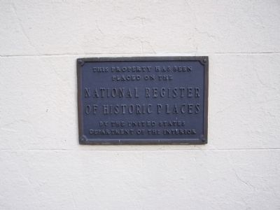Loockerman House Plaque Photo, Click for full size