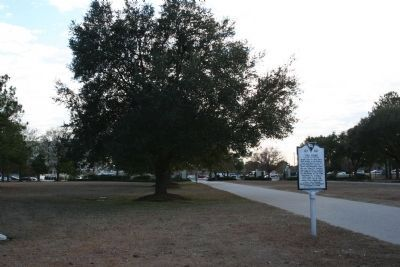 The Elms Marker on Charleston Southern University Campus image. Click for full size.