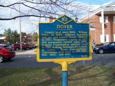 Dover Marker Photo, Click for full size