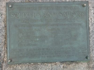 Soldiers and Sailors Marker Photo, Click for full size