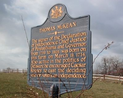 Thomas McKean Marker image. Click for full size.