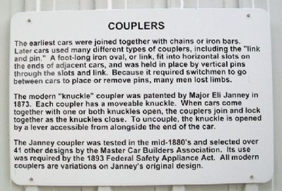Couplers Marker image. Click for full size.