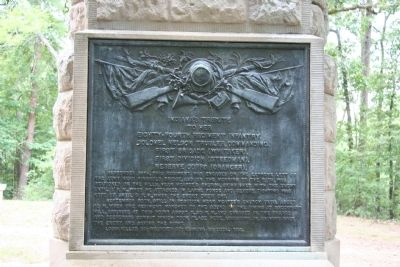 84th Regiment Indiana Infantry Marker image. Click for full size.