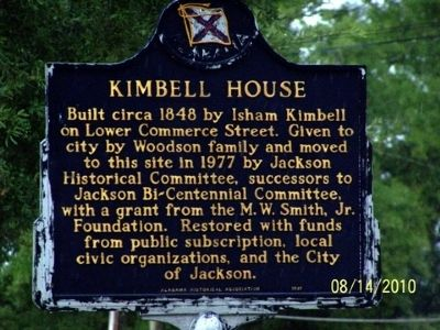 Kimbell House Marker image. Click for full size.