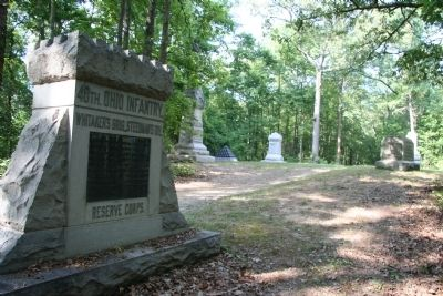 40th. Ohio Infantry Marker image. Click for full size.