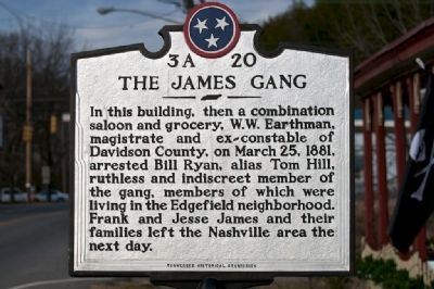 The James Gang Marker image. Click for full size.