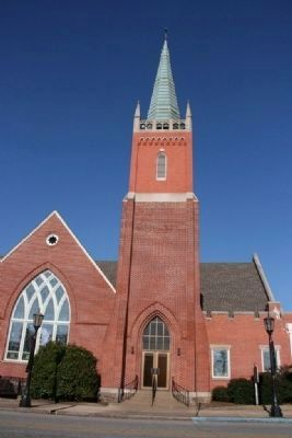 First United Methodist Church of Gadsden, Alabama image. Click for full size.