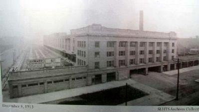 December 8, 1913 Photo on Soo Warehouse Entablature Marker image. Click for full size.