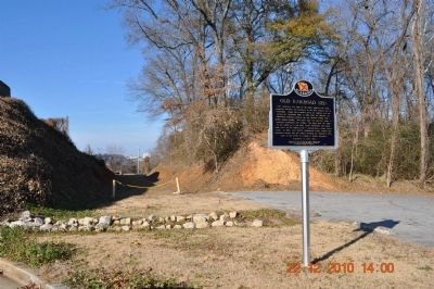 Old Railroad Bed Marker image. Click for full size.