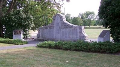 East Cocalico Township World War II Memorial image. Click for full size.