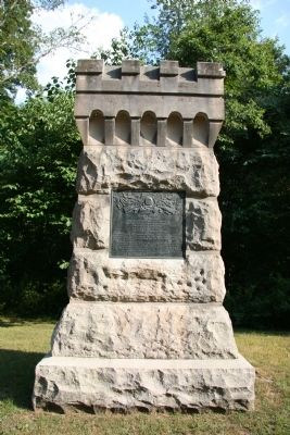 87th Indiana Infantry Marker Photo, Click for full size