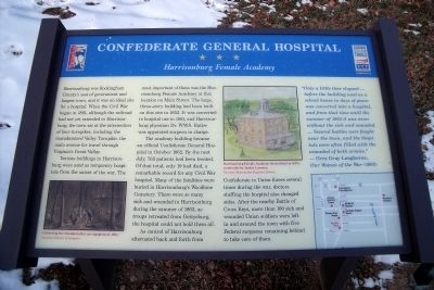 Confederate General Hospital CWT Marker Photo, Click for full size