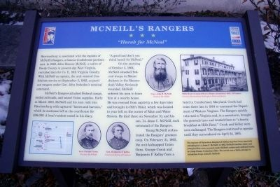 McNeill�s Rangers CWT Marker image. Click for full size.