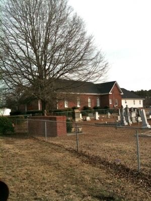 Townville Presbyterian Church and Cementery image. Click for full size.