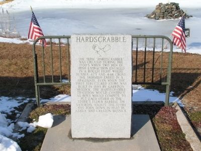 Hardscrabble Marker image. Click for full size.