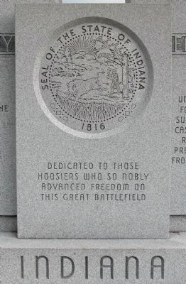 Indiana State Memorial image. Click for full size.