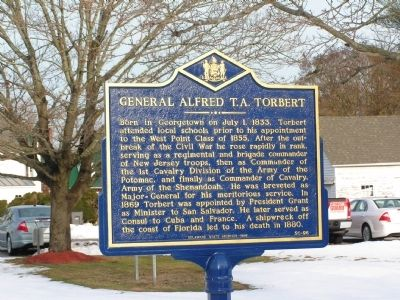 General Alfred T.A. Torbert Marker image. Click for full size.