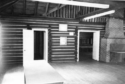 American Legion Hut main room image. Click for full size.