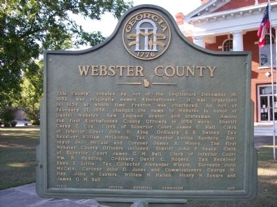 Webster County Marker image. Click for full size.