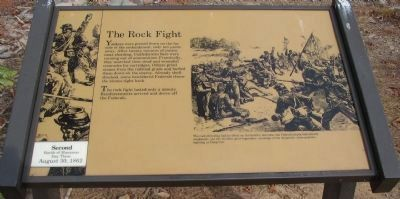 The Rock Fight Marker Photo, Click for full size