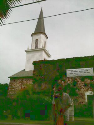 The First Hawaiian Christian Marker Photo, Click for full size