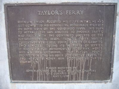 Taylor's Ferry Marker image. Click for full size.