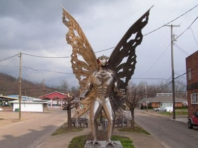 Mothman of Point Pleasant image. Click for full size.