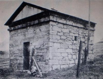 The Hornitos Jail before Restoration image. Click for full size.