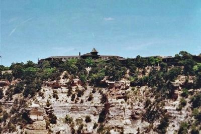 El Tovar Hotel, South Rim, Grand Canyon image. Click for full size.