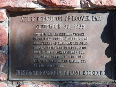 Plaque on the <i>Left Side</i> of the Monument. Photo, Click for full size