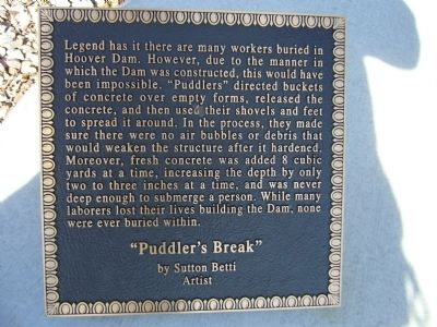 Puddler's Break Marker Photo, Click for full size