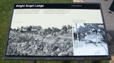 Bright Angel Lodge Marker image. Click for full size.