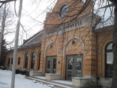 Milwaukee Road Passenger Depot image. Click for full size.