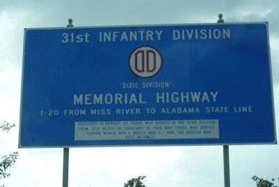 """Dixie Division"" Memorial Highway image. Click for full size."