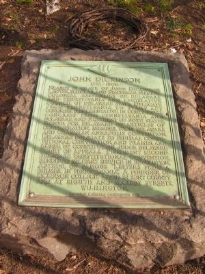 John Dickinson Marker Photo, Click for full size